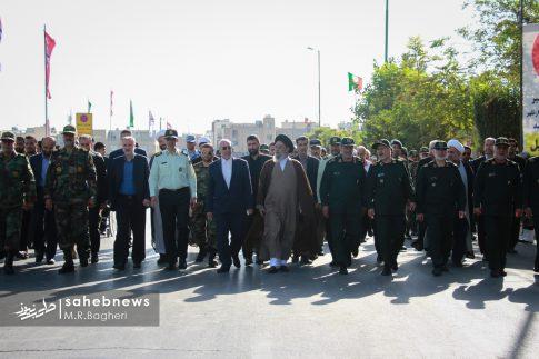 رژه هفته دفاع اصفهان (1)