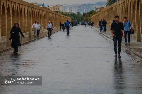 باران پاییزی اصفهان (2)