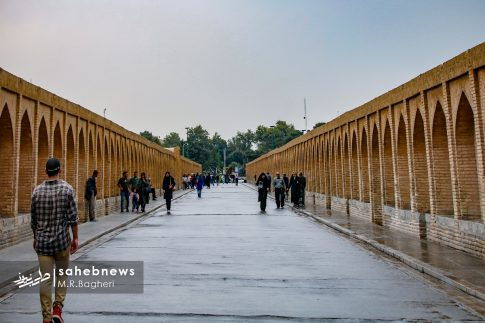 باران پاییزی اصفهان (6)