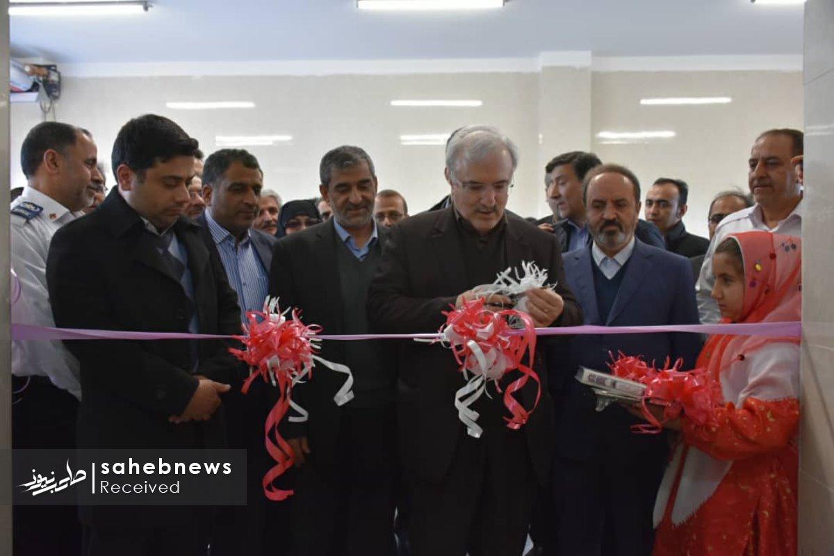 افتتاح پایگاه اورژانس نطنز وزیر بهداشت (3)