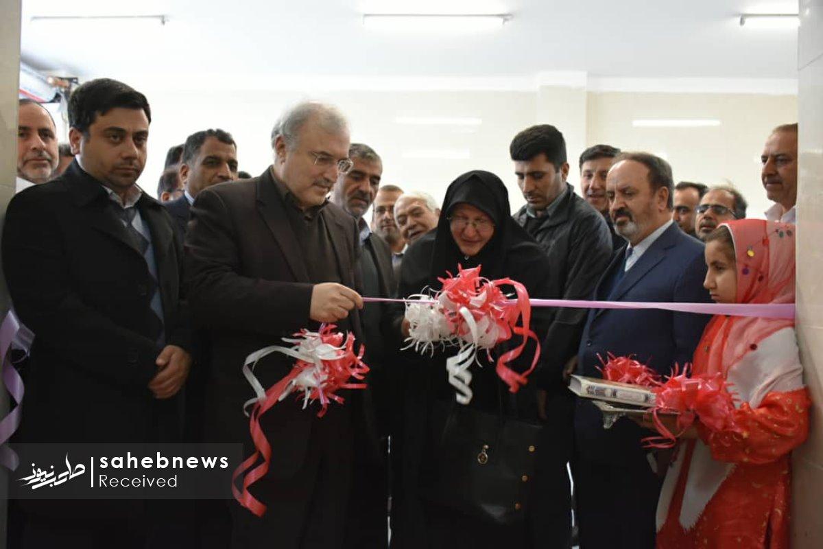 افتتاح پایگاه اورژانس نطنز وزیر بهداشت (4)