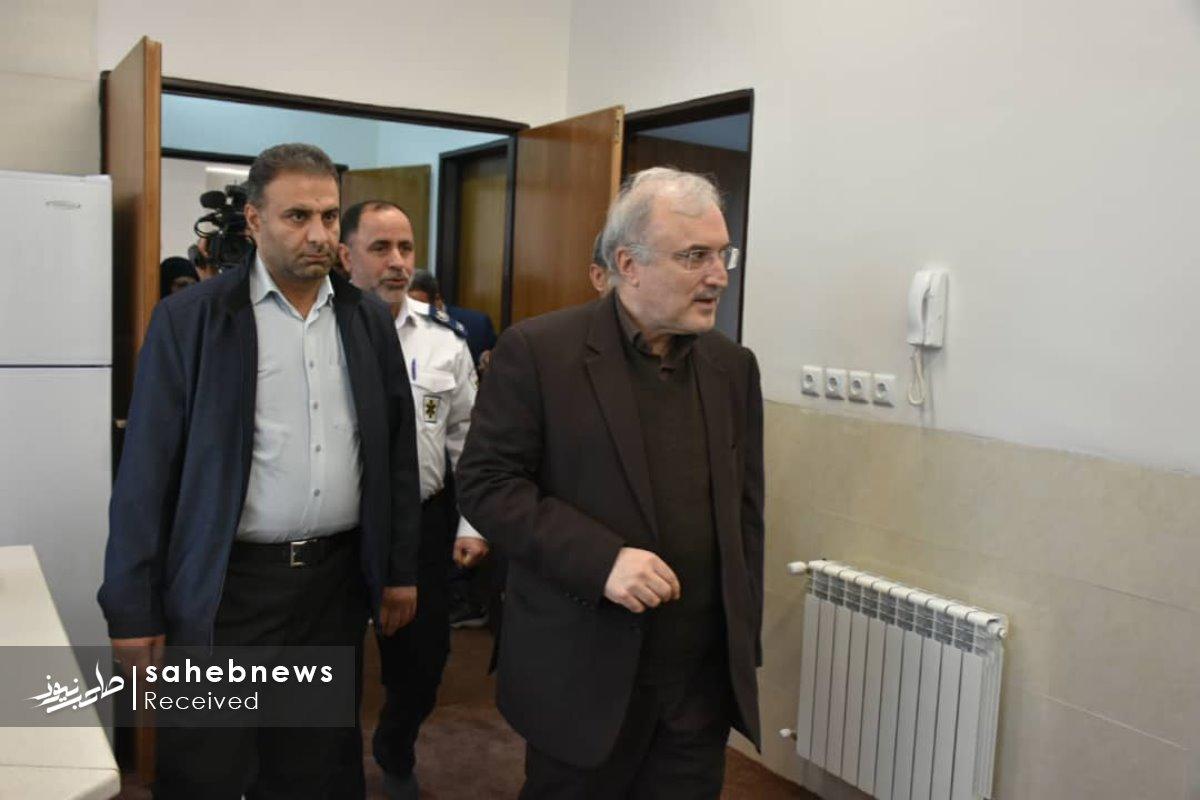 افتتاح پایگاه اورژانس نطنز وزیر بهداشت (5)