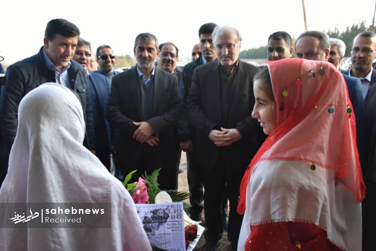 افتتاح پایگاه اورژانس نطنز وزیر بهداشت (9)