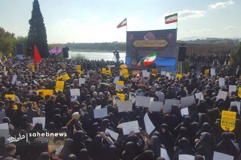 راهپیمایی مردم اصفهان در اعتراض به اغتشاشات (2)