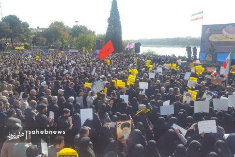 راهپیمایی مردم اصفهان در اعتراض به اغتشاشات (3)