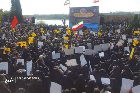 راهپیمایی مردم اصفهان در اعتراض به اغتشاشات (5)