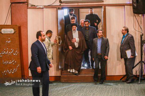 آیت الله رئیسی در اصفهان (1)