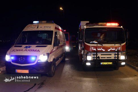 واژگونی اتوبوس اصفهان (3)