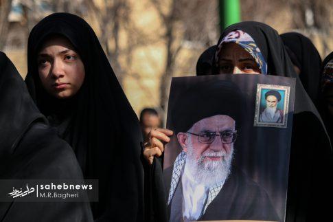 تشییع شهید باب الخانی (2)
