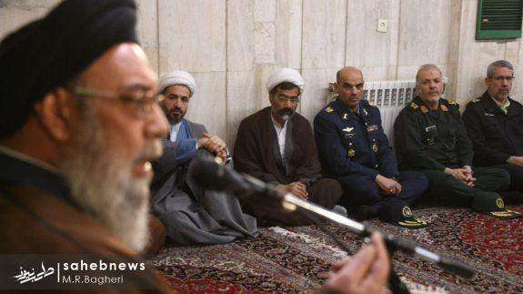 دیدار نیرهای مسلح اصفهان با امام جمعه (10)