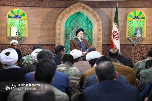 دیدار نیرهای مسلح اصفهان با امام جمعه (5)