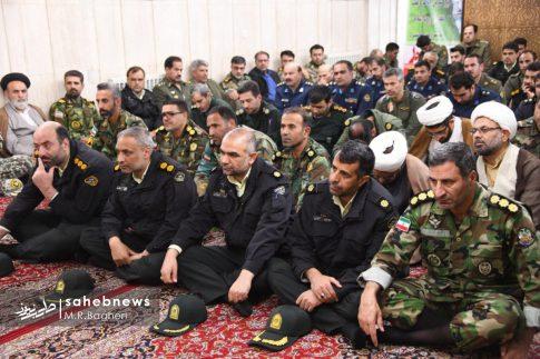 دیدار نیرهای مسلح اصفهان با امام جمعه (9)