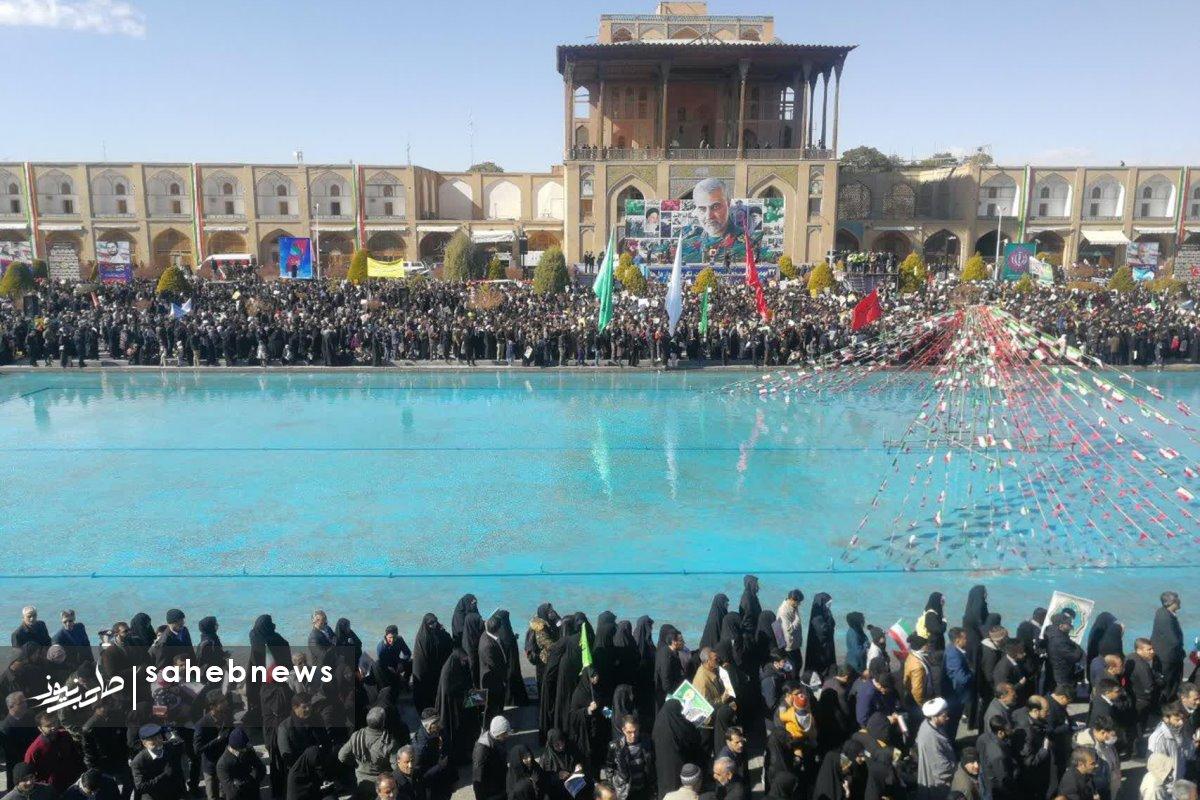 راهپیمایی 22 بهمن 98 اصفهان (2)