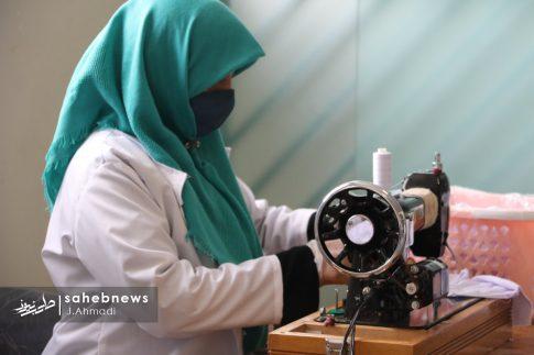 تولید ماسک کرونا توسط بسیج اصفهان (1)