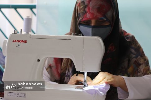 تولید ماسک کرونا توسط بسیج اصفهان (11)