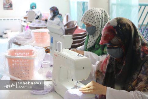 تولید ماسک کرونا توسط بسیج اصفهان (12)