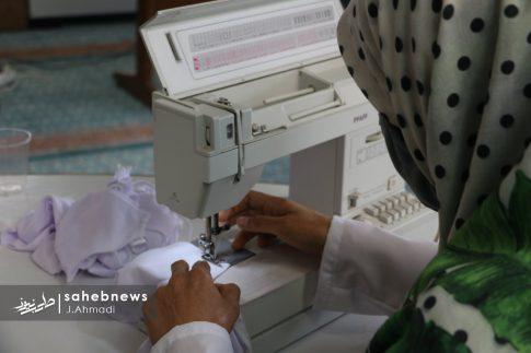 تولید ماسک کرونا توسط بسیج اصفهان (13)