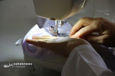 تولید ماسک کرونا توسط بسیج اصفهان (15)