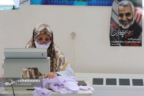 تولید ماسک کرونا توسط بسیج اصفهان (16)