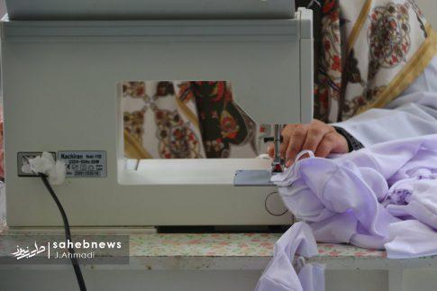 تولید ماسک کرونا توسط بسیج اصفهان (17)