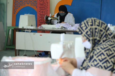 تولید ماسک کرونا توسط بسیج اصفهان (20)