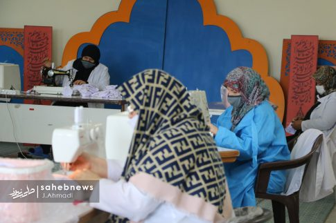 تولید ماسک کرونا توسط بسیج اصفهان (21)