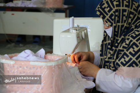 تولید ماسک کرونا توسط بسیج اصفهان (3)