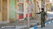 ضدعفونی معابر شهر حبیب آباد توسط بسیج - صاحب نیوز (9)