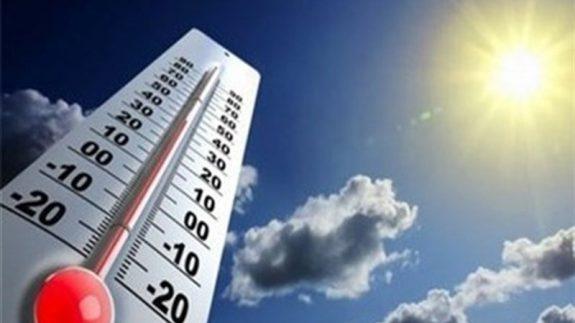 افزایش دمای هوا