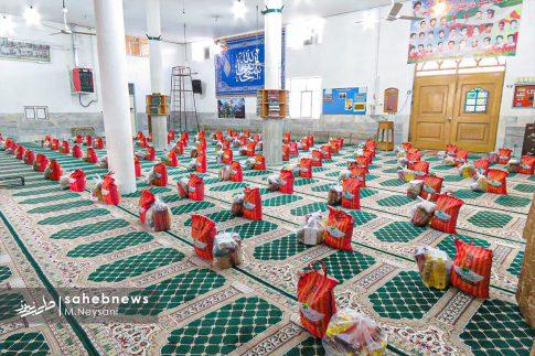 رزمایش مواسات و کمک مومنانه در شهرستان برخوار (1)