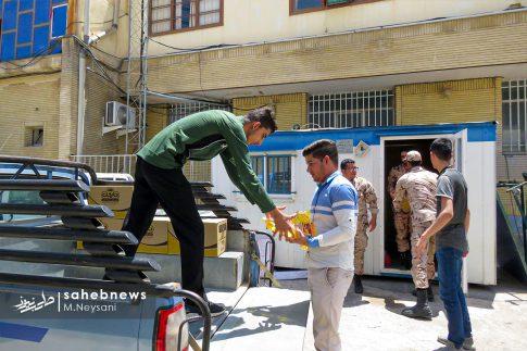 رزمایش مواسات و کمک مومنانه در شهرستان برخوار (14)