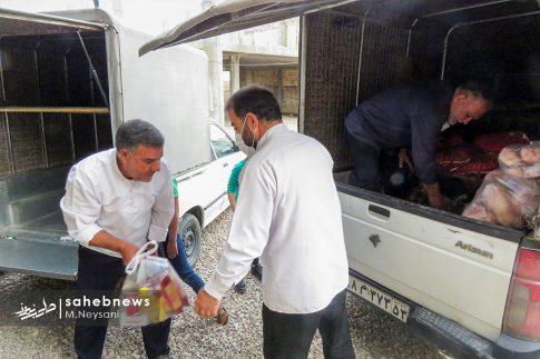 رزمایش مواسات و کمک مومنانه در شهرستان برخوار (2)