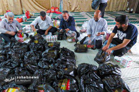 رزمایش مواسات و کمک مومنانه در شهرستان برخوار (7)