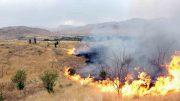 آتش سوزی مراتع اصفهان