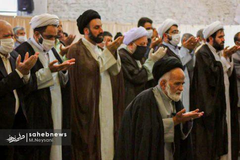 اقامه نخستین نماز جمعه سال 1399 - شهرستان برخوار (1)