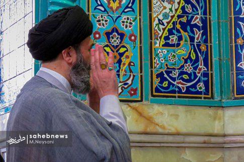 اقامه نخستین نماز جمعه سال 1399 - شهرستان برخوار (10)