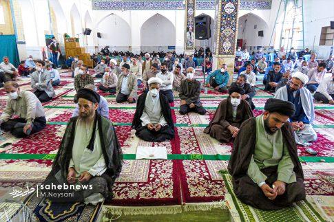 اقامه نخستین نماز جمعه سال 1399 - شهرستان برخوار (14)