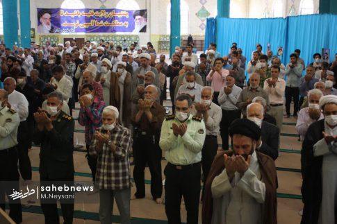 اقامه نخستین نماز جمعه سال 1399 - شهرستان برخوار (16)