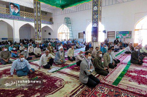 اقامه نخستین نماز جمعه سال 1399 - شهرستان برخوار (2)