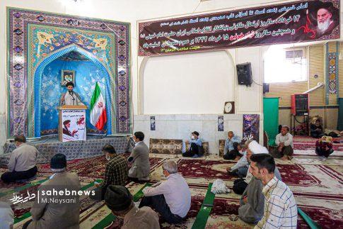 اقامه نخستین نماز جمعه سال 1399 - شهرستان برخوار (23)