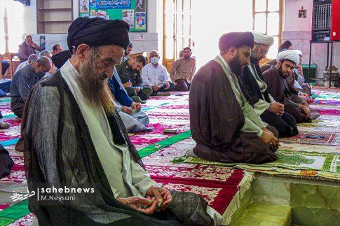 اقامه نخستین نماز جمعه سال 1399 - شهرستان برخوار (24)