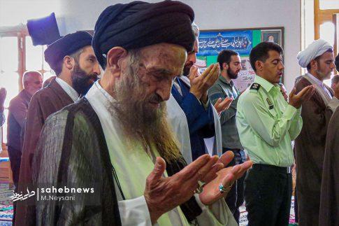 اقامه نخستین نماز جمعه سال 1399 - شهرستان برخوار (3)