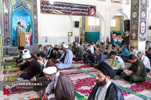 اقامه نخستین نماز جمعه سال 1399 - شهرستان برخوار (5)