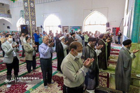 اقامه نخستین نماز جمعه سال 1399 - شهرستان برخوار (7)