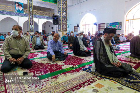 اقامه نخستین نماز جمعه سال 1399 - شهرستان برخوار (9)