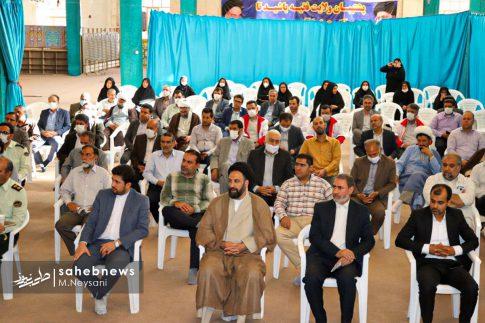 تصاویر آئین گرامیداشت هفته قوه قضائیه و شهدای ۷ تیر در امامزاده نرمی (1)