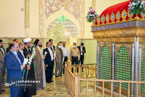 تصاویر آئین گرامیداشت هفته قوه قضائیه و شهدای ۷ تیر در امامزاده نرمی (10)
