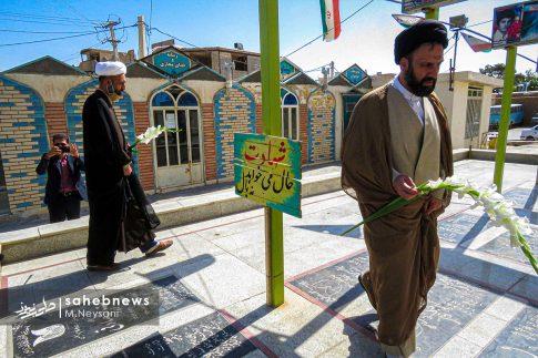 تصاویر آئین گرامیداشت هفته قوه قضائیه و شهدای ۷ تیر در امامزاده نرمی (13)