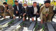 تصاویر آئین گرامیداشت هفته قوه قضائیه و شهدای ۷ تیر در امامزاده نرمی (17)