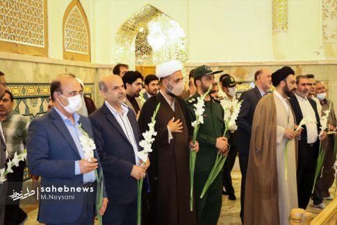 تصاویر آئین گرامیداشت هفته قوه قضائیه و شهدای ۷ تیر در امامزاده نرمی (18)